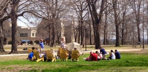 Next year, this will be you enjoying class outdoors