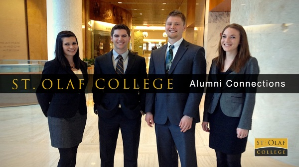 Alumni Connections poster slide